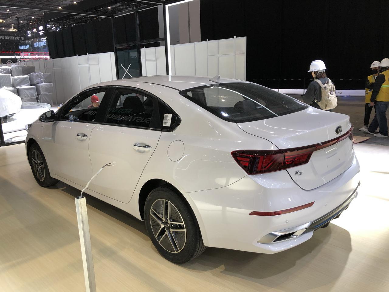 2019上海车展实拍:起亚K3新能源