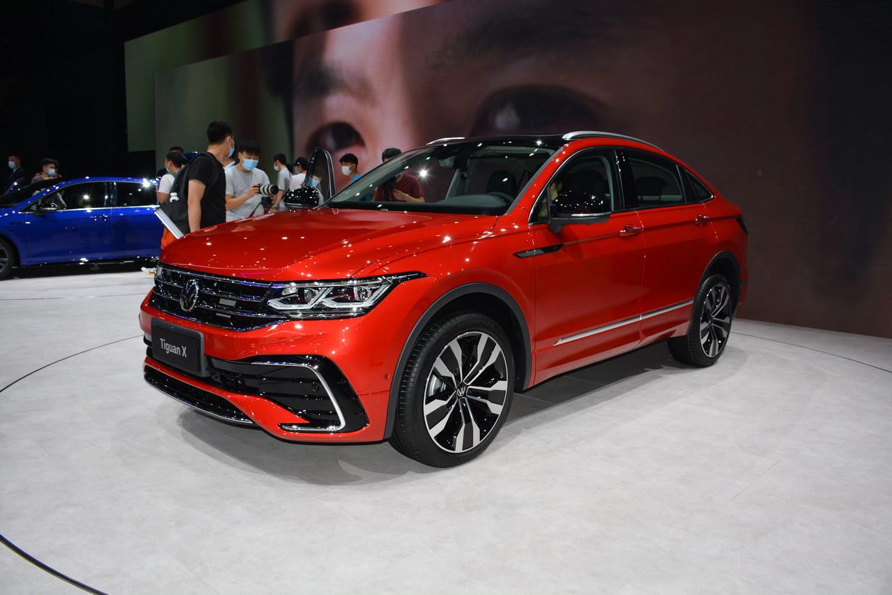 2020北京车展实拍:途观X