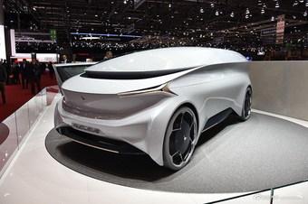 2018款Nucleus 概念车
