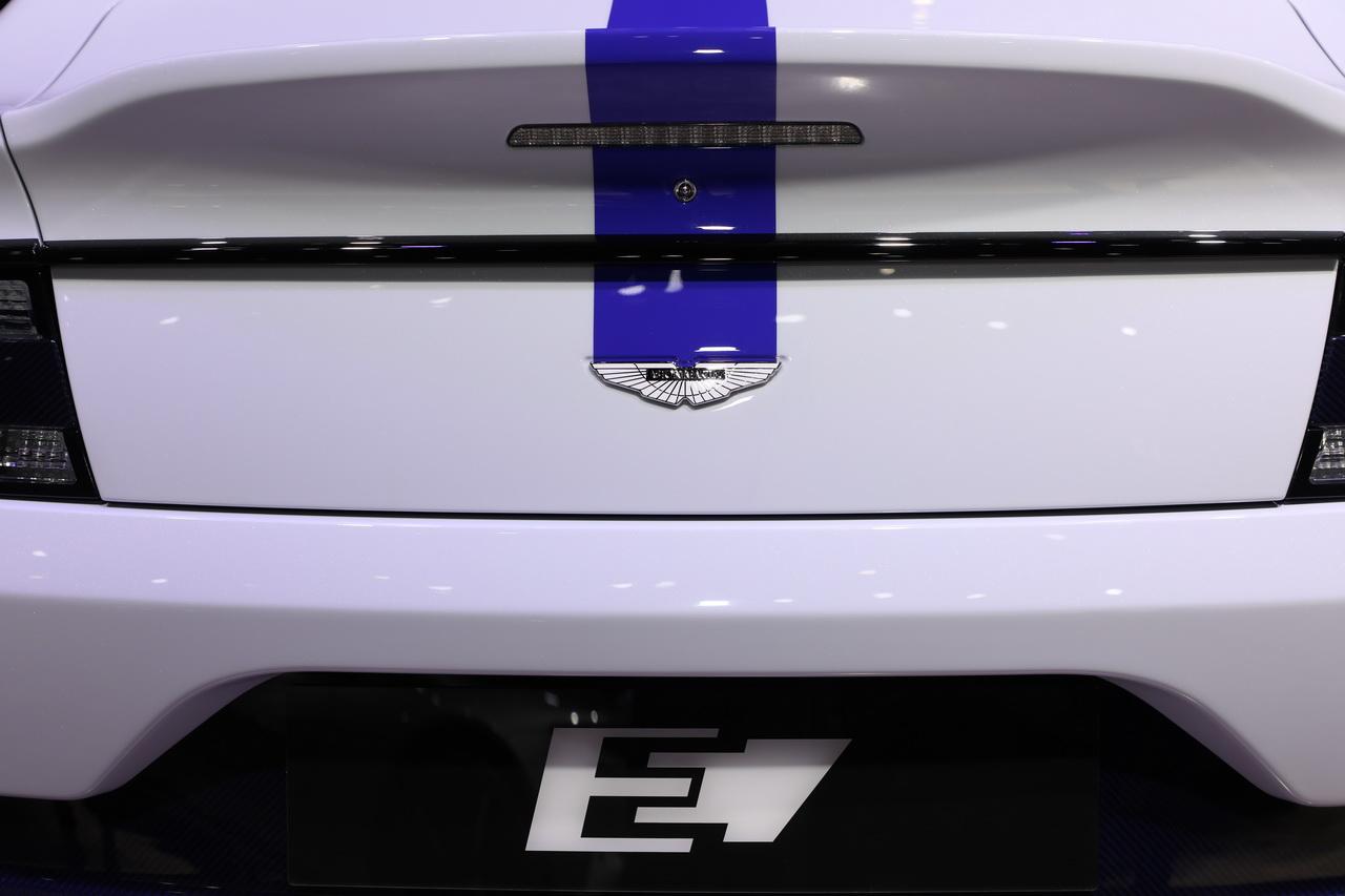 2019上海车展实拍:Rapide E新能源