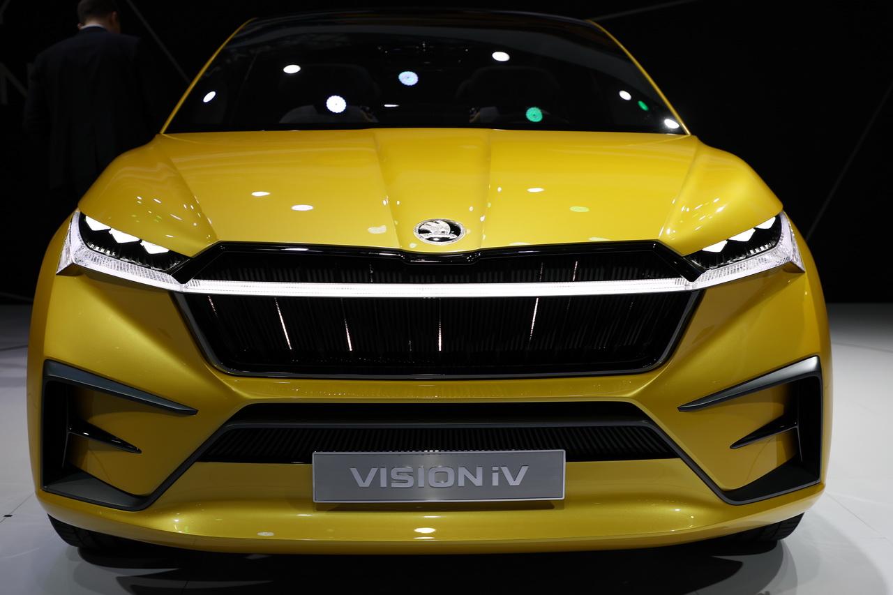 2019上海车展实拍:VISION iV新能源