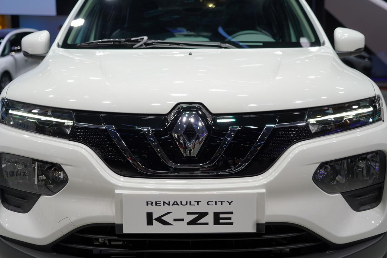 2019上海车展实拍:雷诺K-ZE新能源