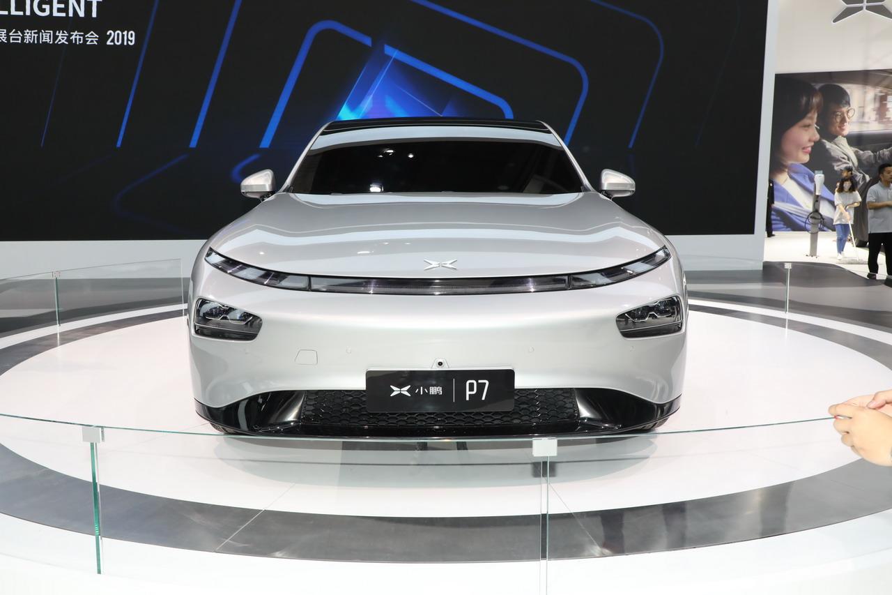 2019上海车展实拍:小鹏汽车P7新能源