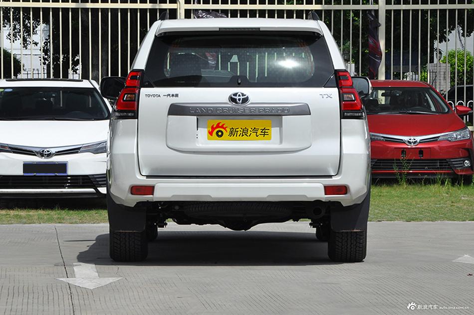 丰田普拉多 11月报价 长沙最高降0.05万