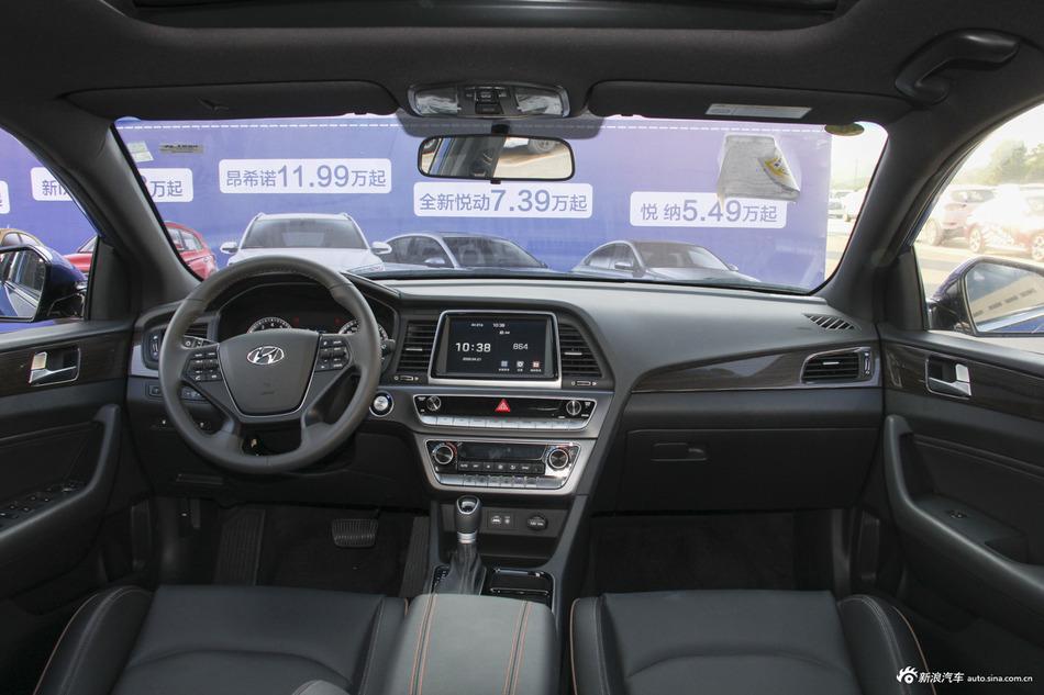 2018款索纳塔九1.6T自动GS智能型