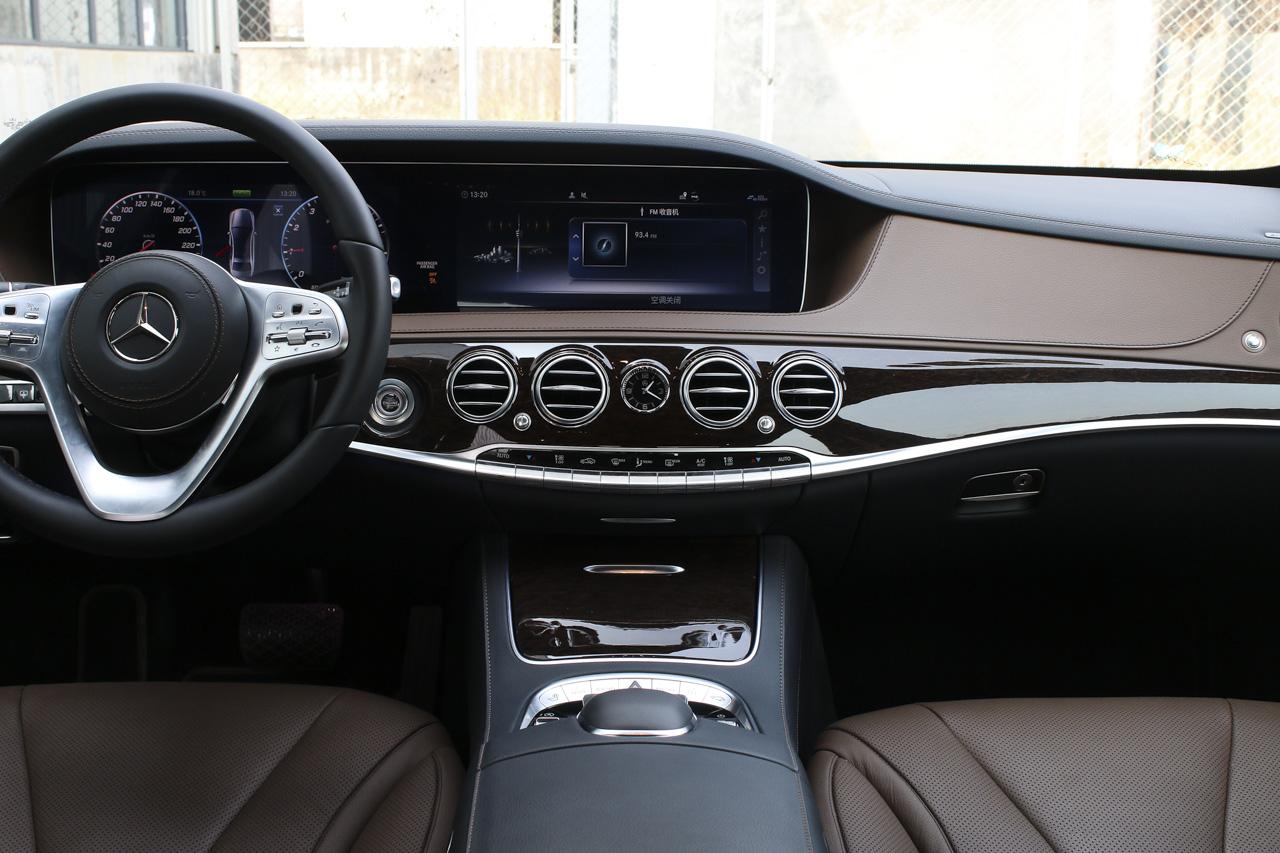 2019款奔驰S级2.0T自动S320L