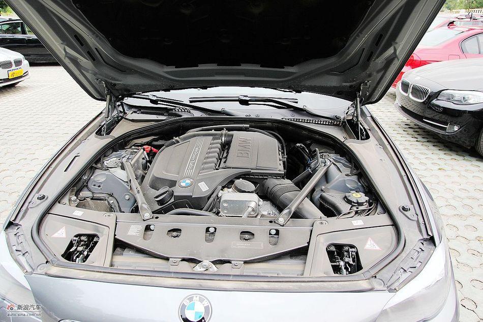进口宝马535i领先运动型引擎图片