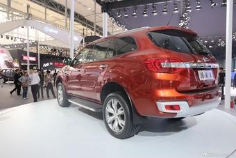 2014年第12届广州国际车展 图为:福特Everest