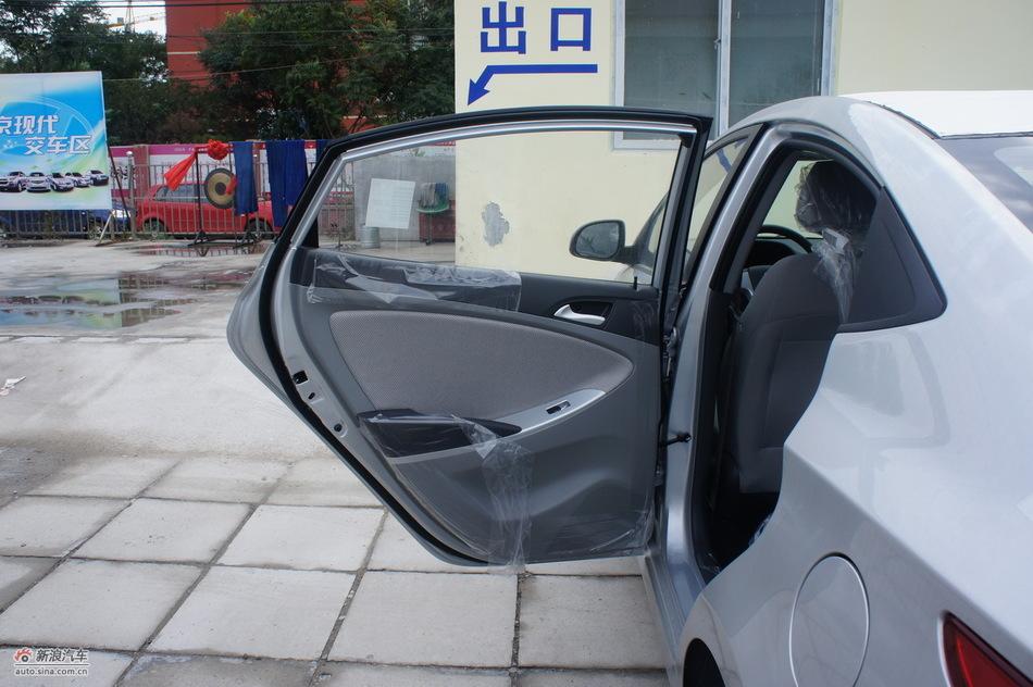 2010款北京现代瑞纳到店实拍