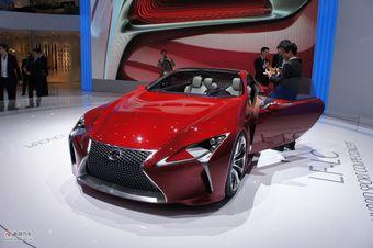 雷克萨斯LF-LC概念车