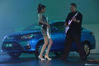 全新威驰上市活动现场歌舞表演