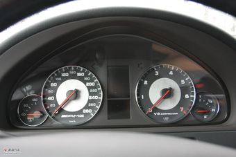 2010款G55 AMG内饰