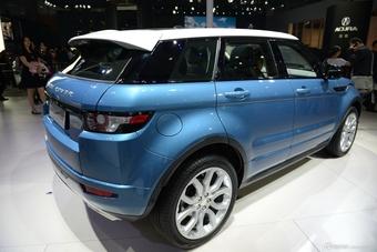 2014年第12届广州国际车展 图为:揽胜极光