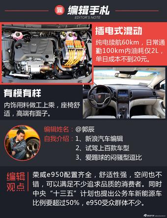 试荣威e950