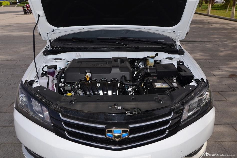 2016款吉利帝豪1.5L手动三厢豪华型