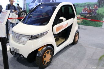 2014年第12届广州国际车展 图为:长城欧拉