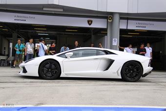 2011款兰博基尼Aventador LP700-4外观
