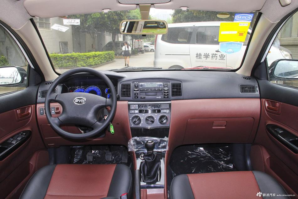 2013款比亚迪F3节能版1.5L手动舒适型