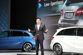 奔驰新B级上市奔驰(中国)汽车销售有限公司销售总监蔡公明介绍车辆