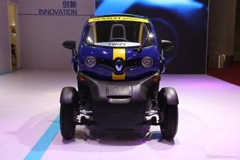 2014年第12届广州国际车展 图为:TWIZY ZE