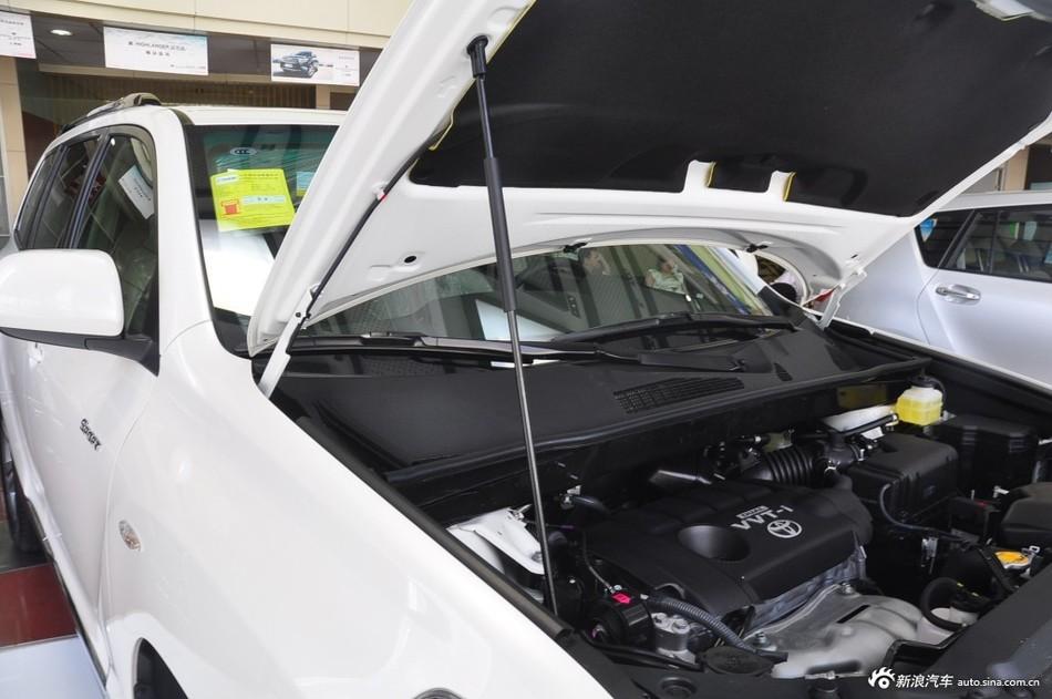 2012款汉兰达2.7L自动两驱豪华导航版7座