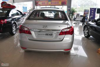 2011款北京现代悦动1.6L自动豪华型外观